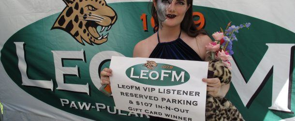 Congratulations to Jordan our LeoFM VIP Parking Spot Winner