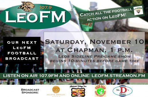 Leopard Football on LeoFM