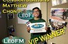 VIP Winner: Matthew Chon
