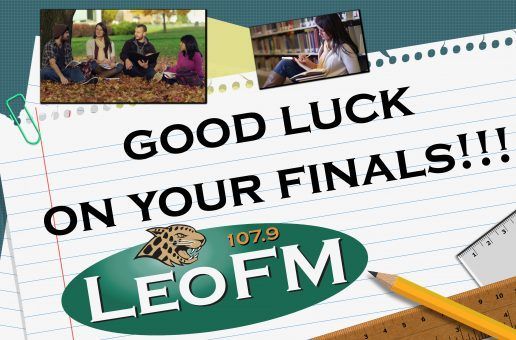 Good Luck on your Finals!